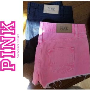 Pink Victoria's Secret Bundle of Shorts